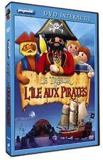 PLAYMOBIL - LE TRÉSOR DE L'ÎLE AUX PIRATES DVD NEUF SOUS CELLO