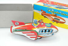 VINTAGE Blechspielzeug Rocket Racer Made in China MF735 ca. 19cm lang