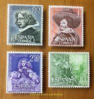 EBS Spain España 1961 Diego Velázquez Anniversary 1236-1238 MNH** cv $33
