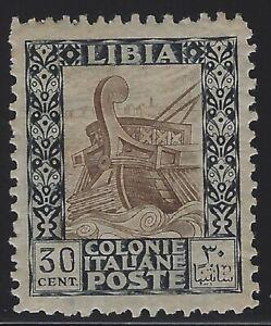 Libya - 1924 - Scott # 54a - perf 11 x 11 - Mint OG Hinged