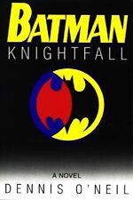 Batman Knightfall by Dennis O'Neil - HC w/DJ 1994 - NEAR MINT