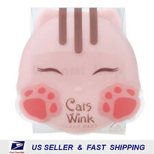 [ TONYMOLY ] Cats Wink Pact #2 Clear Beige 11g +NEW Fresh+ Free Sample