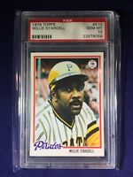 1978 Topps Willie Stargell #510 PSA 10 Pittsburgh Pirates HOF