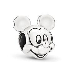 Charm Ciondolo Topolino Compatibile Mickey Mouse  Disney sImIl New