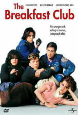 THE BREAKFAST CLUB Movie POSTER 27x40 B Ally Sheedy Molly Ringwald Judd Nelson