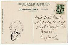 More details for 1905 ppc stalheimskleven norway molde postmark & s y argonaught maritime cachet