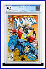Uncanny X-Men #295 CGC Graded 9.4 Marvel December 1992 White Pages Comic Book.