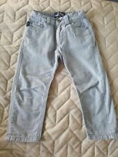 Trotters Thomas Brown Boys Toddler Peter Blue Pinstripe Trousers *Age 3*