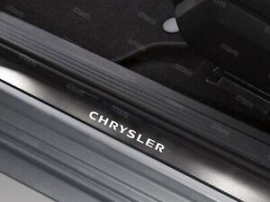 6 x Chrysler Stickers for Door sills Crossfire 300C Voyager Neon PT Cruiser W