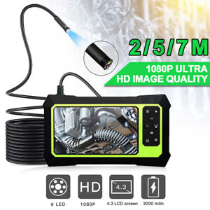 """4.3"""" LCD Monitor 1080P Industrial Endoscope Borescope Video Inspection Camera UK"""