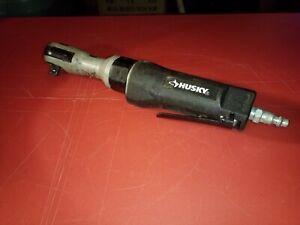"Husky H4110 Air/Pneumatic Ratchet Wrench, 50 ft/lb of Torque, 3/8"""