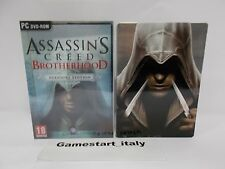 ASSASSIN'S CREED BROTHERHOOD AUDITORE EDITION + STEELBOOK - PC - NUOVO NEW