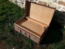 Vintage Steamer Trunk Valise Old Travel Trunk Cabin Trunk ~ table de café