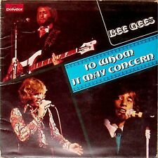 THE BEE GEES 'TO WHOM IT MAY CONCERN' UK LP POP UP GATEFOLD - MISPRESSED LABEL