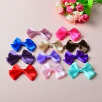 200X Bowknot Home Wedding Party Clothing Decoration Scrapbooking DIY Crafts Red