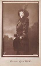 Alexandra Victoria Prinzessin Princess August Wilhelm~Germany Royalty Postcard