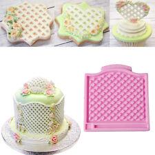 Lace Fence Silicone Fondant Mold Cake Decorating Sugarcraft Baking Mould Tool