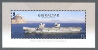 Gibraltar-Ships-HMS Queen Elizabeth Visit-2018 mnh min sheet