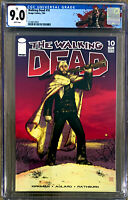 THE WALKING DEAD #10 in VF/NM CGC graded 9.0 a 2004 Image comic 1st print