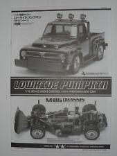 New Tamiya Lowride Pumpkin M06 Chassis Instructions 11053836 / 58594