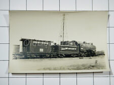 IH & IR Railroad: Engine 7296 & Car 117118: 1955 Train Photo