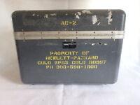 HP Hewlett Packard Company Case Box Division 08 Colorado pre-1988 vintage