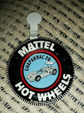 Hotwheels Redline Original 1968 CHAPARRAL  2G button badge