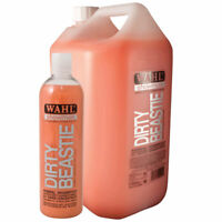 WAHL Dirty Beastie Horse SHAMPOO Body Wash for Thick Matted Coats 500ml / 5l