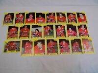 Oshawa Generals 7th Inning Sketch Team Set 22 Cards 1989-90 #ed 2 - 23 LOT OHL