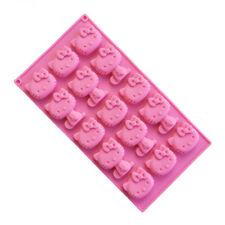 Hello Kitty Silicone Chocolate Mold Cake Chocolate Mold Baking Tools Pink