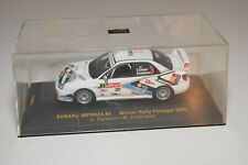 WW 1:43 IXO RAM224 SUBARU IMPREZA WINNER RALLY PORTUGAL 2005 CARLSSON MIB