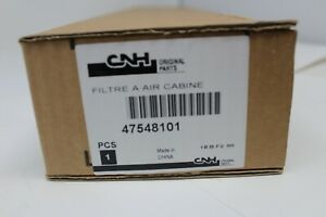 GENUINE CASE NEW HOLLAND AIR FILTER CABINE (PN 47548101) *NEW*