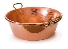 """MAUVIEL 1830 rame martellata jam pan 36cm M """"PASSIONE Cookware REGALO"""