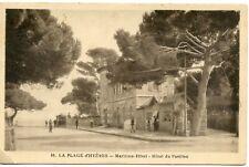 CARTE POSTALE / LE VAR /// LA PLAGE D'HYERES MARITIMA HOTEL // HOTEL DU PAVILLON