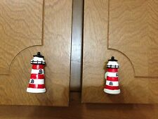 10 Nautical Lighthouse 3D Cabinet Handles Knob Drawer Pull Kitchen Bedroom Decor