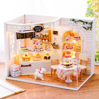DIY Handcraft Miniature Project Wooden My Little Bakery in London Dolls House