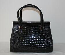 d76d4ad6ac Valextra Bambù borsa donna in vero coccodrillo Nera usata pari al nuovo