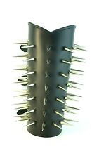 Spike Leather Gauntlets Death Metal Punk Cyber Goth 49 Screw Nail Spike