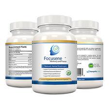 Focusene - Natural, Herbal Nootropic - Focus, Memory, Concentration (180 caps)