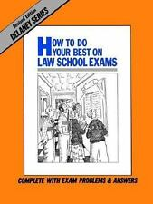 How to Do Your Best on Law School Exams, , Delaney, John, Good, 2012-02-01,