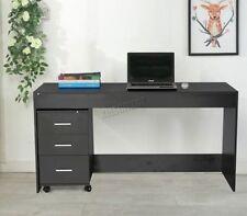 Bureaux et tables d'ordinateur noirs pour le bureau