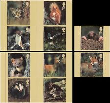 2004 Woodland Animals, set of 10 Royal Mail MINT PHQ Cards