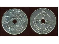 NORVEGE  1 krone   2000   ( bis )