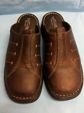 Eastland Brown Slip On Leather Casual Women's Shoes Size 6M