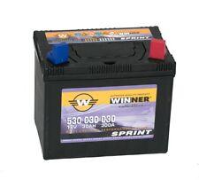 Batterie WINNER SPRINT 30AH 12V Rechts Honda Husqvarna Rasentraktor Aufsitzmäher
