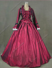 Victorian Civil War Ruby Dress Ball Gown Theatrical Reenactment Costume 170 Xxxl