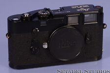 LEICA LEITZ M3 SS NO GUARD BLACK PAINT RANGEFINDER CAMERA SN. 1140654 CLEAN NICE