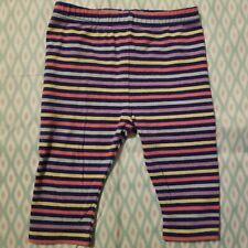 12 Months Multicolor Circo Infant Toddler Girls Striped Legging
