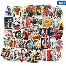 50PCS Demon Slayer: Kimetsu no Yaiba Anime Stickers for Skateboard Car Luggage