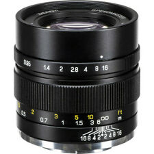 Mitakon Zhongyi Speedmaster 35mm f/0.95 Mark II Lens for Canon M (Black)